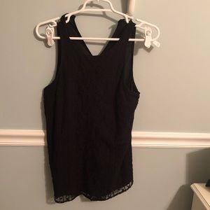 Old Navy black top size S